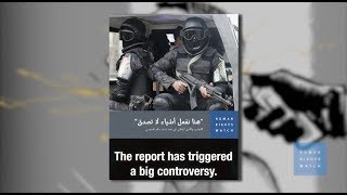 Torture and disinformation in Egypt: HRW responds