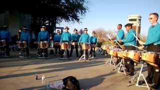 Chino Hills Drumline Fall 2013 - Double Beat