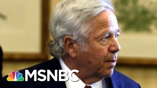 New England Patriots Owner Robert Kraft Charged With Soliciting Prostitution | Craig Melvin | MSNBC