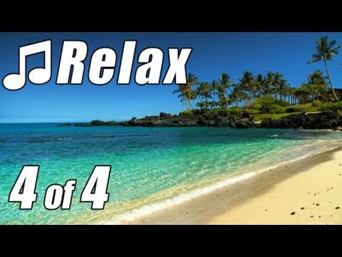 HAWAIIAN MUSIC #4 HD HAWAII BEACHES Relaxing Slack Key Guitar Instrumental Song Island Beach Luau