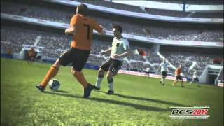 "Trailer - PRO EVOLUTION SOCCER 2011 ""E3 Gameplay Trailer"" for PC, PS2, PS3, PSP, Wii and Xbox 360"