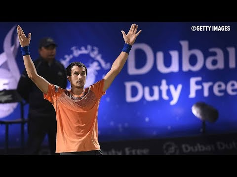 Donskoy Shocks Federer In Dubai Highlights