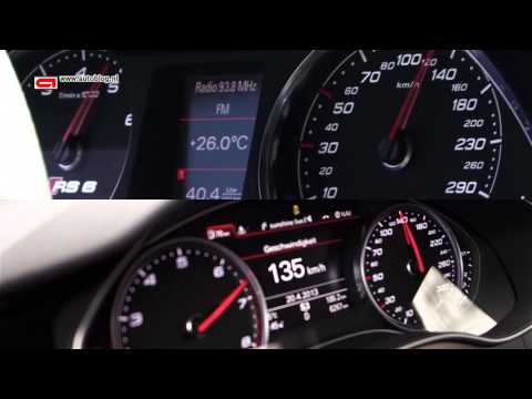 Audi RS6 (C6) vs Audi RS6 (C7) acceleration