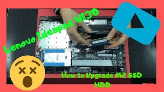 Lenovo V130 How to Upgrade M 2  RAM HDD SSD Disassembly