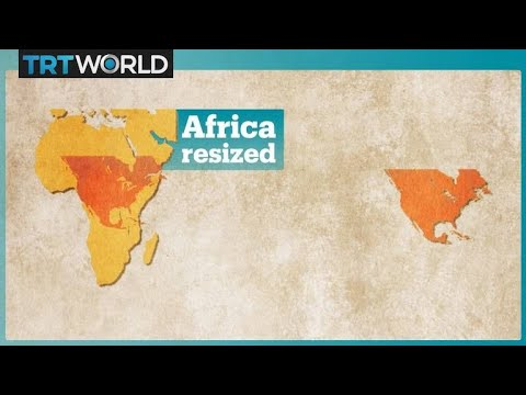 The New World Map Equal Earth Youtube