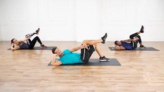 Fire Up Your Core With This 7-Minute Ab Workout From STRONG by Zumba
