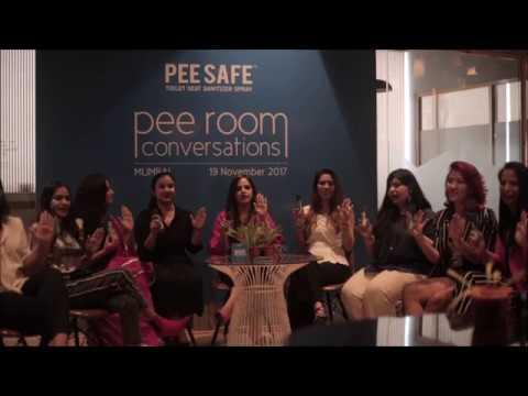 Pee Room Conversation - Mumbai Chapter Pledge for World Toilet Day