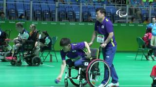 Check out some of the best moments that took place on third morning session wheelchair basketball. for more information rio 2016 paralympic gam...