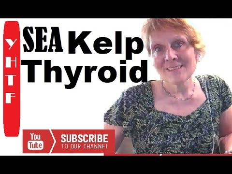 Sea Kelp For Thyroid Health ~ Iodine Sources Healing
