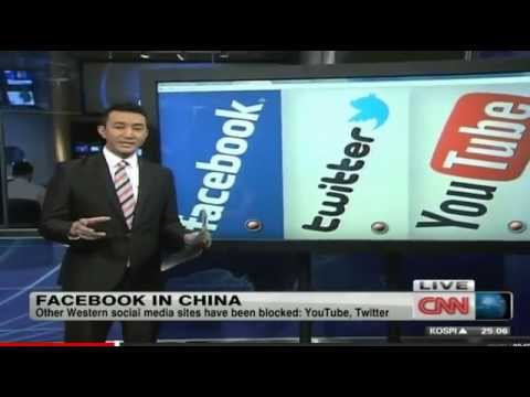 China's replacements; Sina Weibo replaces Twitter, Renren replaces Facebook, Youku replaces Youtube