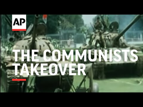 RR7522A VIETNAM SAIGON THE COMMUNISTS TAKEOVER