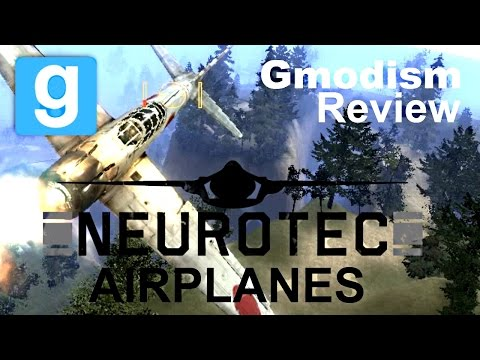 Garry's Mod: NeuroTec Micro Airplanes | General Review And Then Detail