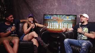 Nina and Niko Interview Jason Aldean Country Thunder 2018
