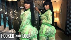 Identical Twins Boast Matching 40-Inch Butts | HOOKED ON THE LOOK