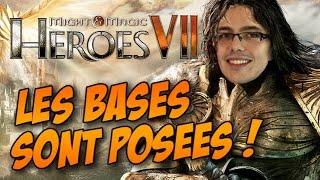 Heroes of Might and Magic 7 Gameplay FR - Les bases sont posées.