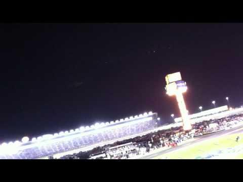 Last lap of the 2011 Coca Cola 600