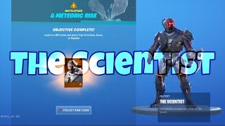 Fortnite (BR) - Unlocking The Scientist