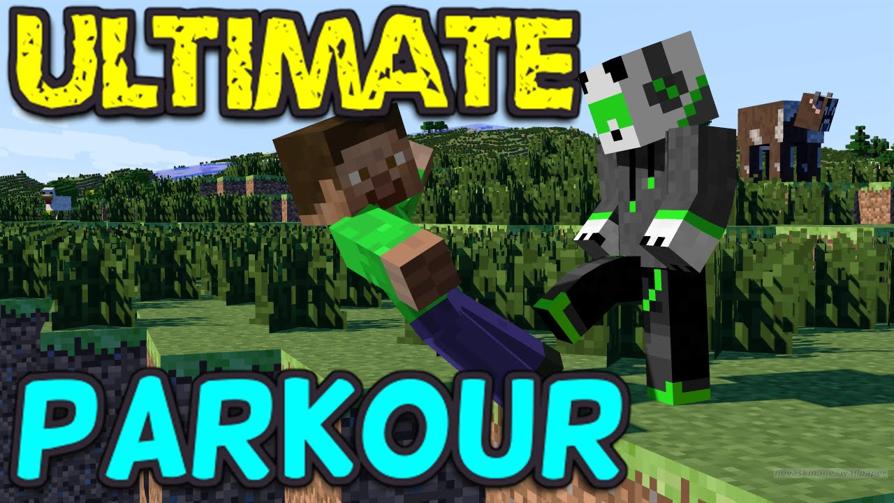 Mike's Minecraft PE Parkour Map Download!