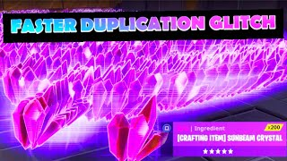 'FASTER' CRAZY AUGUST DUPLICATION GLITCH FORTNITE SAVE THE WORLD