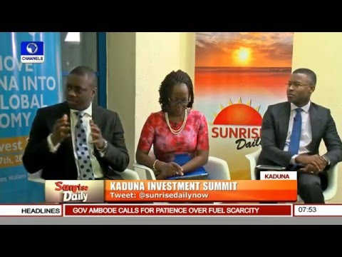 Sunrise Daily: Focus On Kaduna Investment Summit Pt. 2