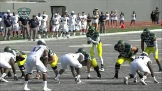 Darius Jackson - Eastern Michigan Football - TB - 2015 Old Dominion Games