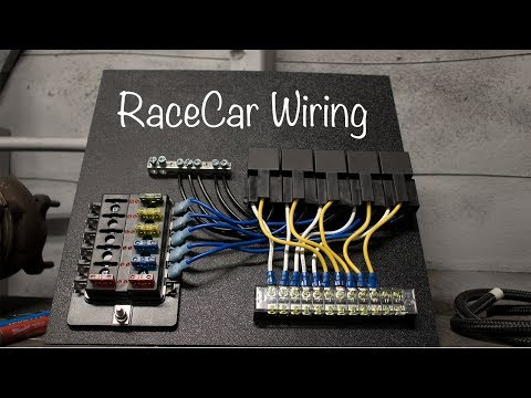 Road Race Car Wire Harness | Repair Manual Racing Wiring Harness on