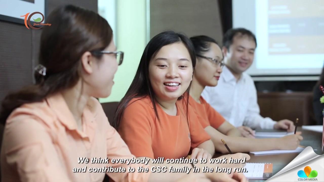 Phim doanh nghiệp CSC Viêt Nam - kỉ niệm 10 năm