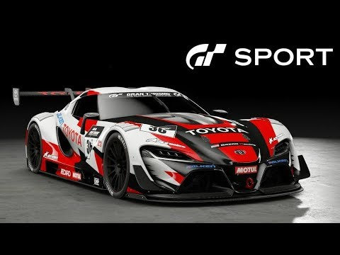 GT SPORT - Toyota GR3 FT-1 Vision GT REVIEW