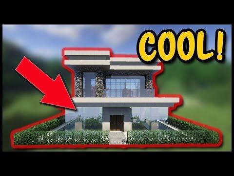 Tutorial Minecraft Villa Mit Pool Bauen So Baut Ihr Ein Wasser - Minecraft haus bauen tutorial deutsch