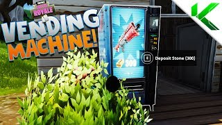 *NEW* VENDING MACHINE! ALL LOCATIONS in Fortnite Battle Royale