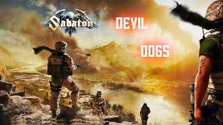 Sabaton  - Devil Dogs [Lyric Video]