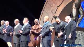 Arnold Schwarzenegger With The Arnold Classic Champions