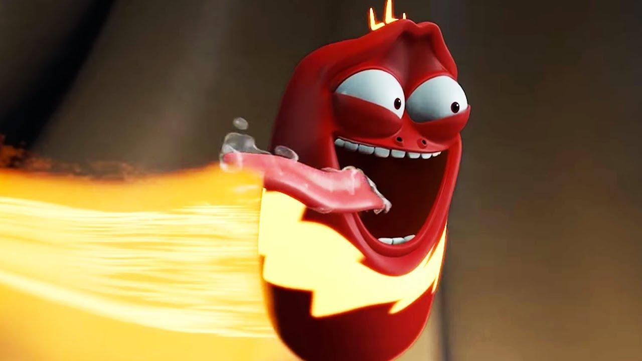 LARVA - SUPER RED | Cartoon Movie | Cartoons For Children | Larva Cartoon | LARVA Official