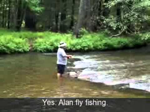 Coopers creek trout fishing may 2012 youtube for Fishing license georgia