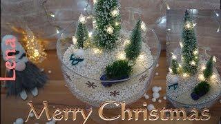 Kreative Tipps von Lena - Winter im Glas basteln - Wonderland in a jar