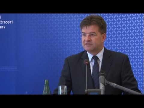 Miroslav Lajčák po rokovaní s Robertom Ficom po kontrolnom dni na MZVaEZ