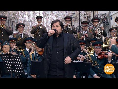Шарип Умханов и Образцово-показательный оркестр войск национальной гвардии Российской Федерации