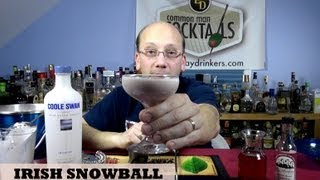 Irish Snowball Cocktail, How-to