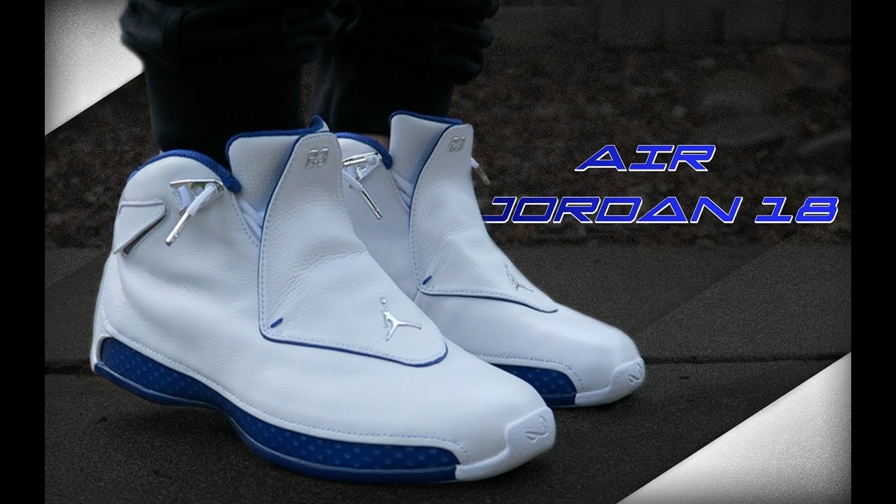 701e613411e AIR JORDAN 18 | 2018 RETRO - YouTube