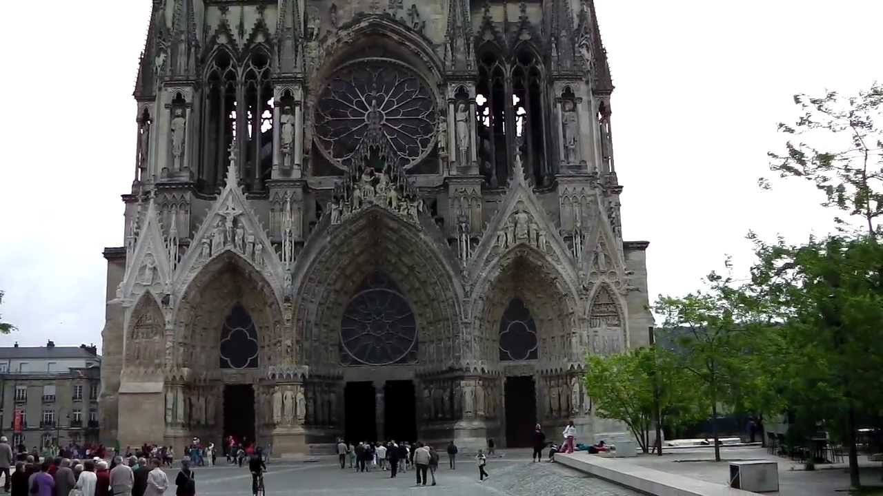 reims cathedral reims france youtube. Black Bedroom Furniture Sets. Home Design Ideas