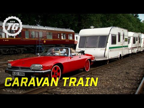 Caravan Train Part 1 | Top Gear | BBC
