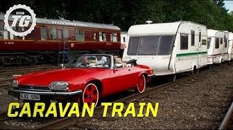 Caravan Train Part 1 | Top Gear | BBC