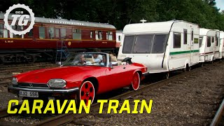Repeat youtube video Caravan Train Part 1 - Top Gear - BBC