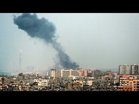 Israeli plane, tank hit Gaza after rocket attack