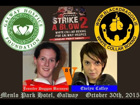 Baranyai v Coffey, Strike A Blow 2 for Galway Hospice