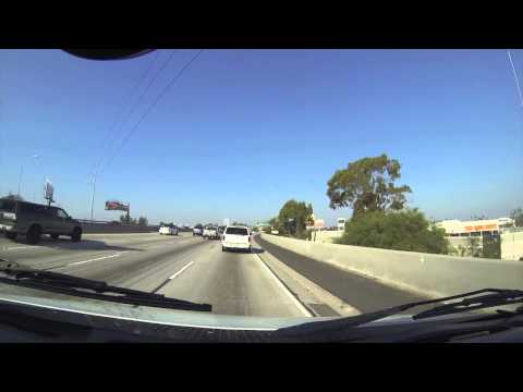 I-110 , 1-405 and ,CA-90 los angeles freeways tour