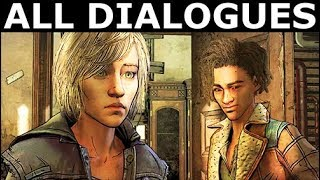 Louis Kicked AJ & Clementine Out Of School - All Dialogues - The Walking Dead Final Season 4 Ep. 2