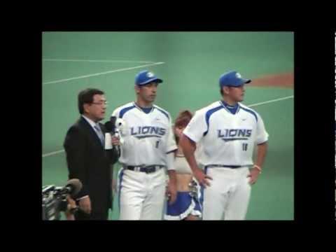 <b>パリーグ</b>・<b>プレーオフ</b>1ST 第1戦 松坂完封勝利(<b>2006年</b>10月7日) - YouTube