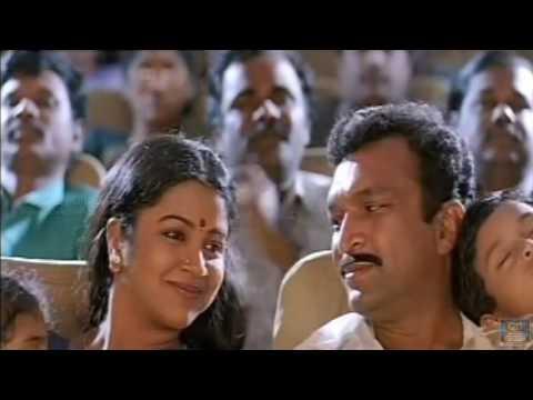 Nassar And Family Went To Theatre -  Varavu Ettana Selavu Pathana Movie HD   Nassar Hits