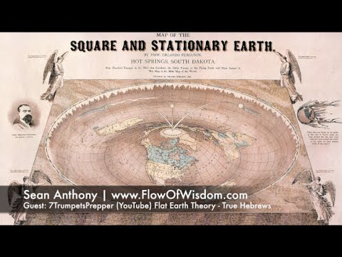 Ancient Hebrew Flat Earth Map.The Flat Earth Theory And The True Hebrews According To Scripture